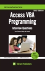 Access VBA Programming Interview Questions You'll Most Likely Be Asked - eBook