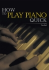 How to Play Piano Quick - eBook