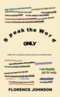 Speak the Word Only - eBook