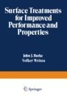 Surface Treatments for Improved Performance and Properties - eBook