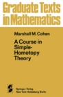 A Course in Simple-Homotopy Theory - eBook