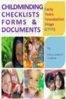 Early Years Foundation Stage (EYFS) Child Minding Checklists Forms & Documents - eBook