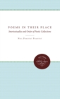 Poems in Their Place : Intertextuality and Order of Poetic Collections - eBook