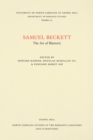 Samuel Beckett : The Art of Rhetoric - eBook