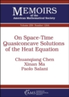 On Space-Time Quasiconcave Solutions of the Heat Equation - Book