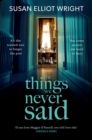 The Things We Never Said - eBook