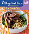 Weight Watchers Mini Series: For One and Two - eBook
