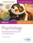 Edexcel Psychology Student Guide 2: Biological psychology and learning theories - Book