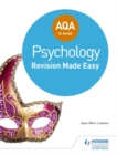 AQA A-level Psychology: Revision Made Easy - Book