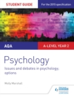AQA Psychology Student Guide 3: Issues and debates in psychology; options - eBook