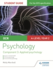 OCR Psychology Student Guide 3: Component 3 Applied psychology - eBook