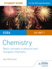 CCEA AS Unit 1 Chemistry Student Guide: Basic concepts in Physical and Inorganic Chemistry - eBook