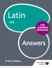 Latin for Common Entrance One Answers - eBook