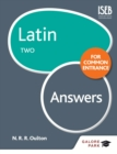 Latin for Common Entrance Two Answers - eBook