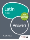Latin for Common Entrance Three Answers - eBook