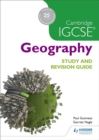 Cambridge IGCSE Geography Study and Revision Guide - Book