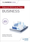 My Revision Notes: Edexcel AS Business - Book