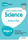 Hodder Cambridge Primary Science Teacher's Pack 5 - eBook