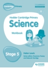 Hodder Cambridge Primary Science Workbook 5 - eBook