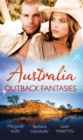 Australia: Outback Fantasies: Outback Heiress, Surprise Proposal / Adopted: Outback Baby / Outback Doctor, English Bride - eBook