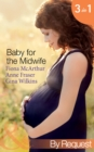 Baby for the Midwife: The Midwife's Baby / Spanish Doctor, Pregnant Midwife / Countdown to Baby (Mills & Boon By Request) - eBook