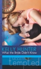 What the Bride Didn't Know - eBook