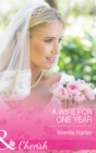 A Wife for One Year - eBook