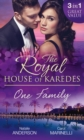 The Royal House of Karedes: One Family: Ruthless Boss, Royal Mistress / The Desert King's Housekeeper Bride / Wedlocked: Banished Sheikh, Untouched Queen (Mills & Boon M&B) - eBook