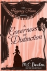 A Governess of Distinction - eBook