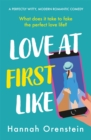 Love at First Like : A wise and witty rom-com of love in the digital age - Book