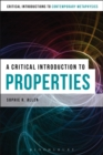 A Critical Introduction to Properties - Book