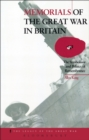 Memorials of the Great War in Britain : The Symbolism and Politics of Remembrance - eBook