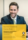 Business Essentials - Management : Communications and Achieving Results Course Book 2015 - eBook
