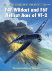 F4F Wildcat and F6F Hellcat Aces of VF-2 - Book