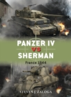 Panzer IV vs Sherman : France 1944 - Book