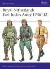 Royal Netherlands East Indies Army 1936-42 - Book