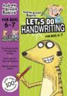 Let's do Handwriting 6-7 - Book
