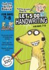 Let's do Handwriting 7-8 - Book