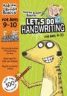 Let's do Handwriting 9-10 - Book