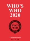 WHOS WHO 2020 - Book