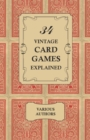 34 Vintage Card Games Explained - eBook