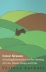 Cereal Grasses - Including Information on the Growing of Corn, Wheat, Barley and Oats - eBook