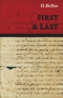 First and Last - eBook