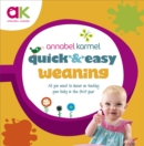 Quick and Easy Weaning - eBook