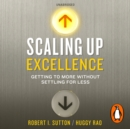 Scaling up Excellence - eAudiobook