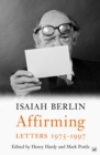 Affirming : Letters 1975-1997 - eBook