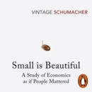 Small Is Beautiful : A Study of Economics as if People Mattered - eAudiobook