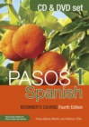 Pasos 1 Spanish Beginner's Course (Fourth Edition) : CD and DVD set - Book