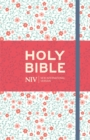 NIV Thinline Floral Cloth Bible - Book