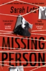 Missing Person : 'I can feel sorry sometimes when a books ends. Missing Person was one of those books' - Stephen King - Book